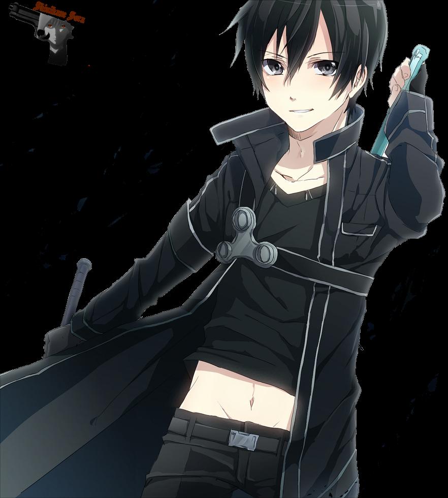 Download Hd Kirigaya Kazuto Images Kirigaya Kazuto Hd Wallpaper Sword Art Online Kirito Shirtless Transparent Png Image Nicepng Com