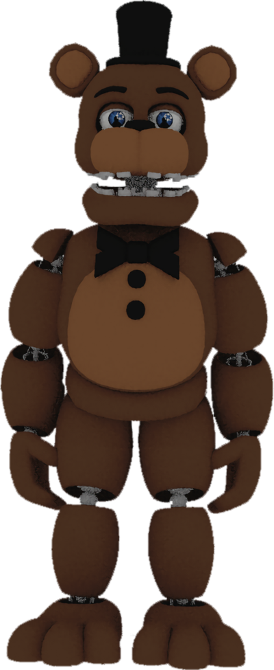 Download HD Timeline Drawing Freddy Fazbear Png Black And