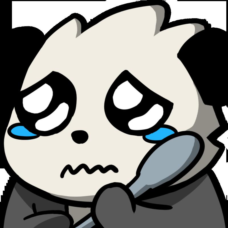 Download Pandaspoonsad Discord Emoji - Discord Panda Emoji ...