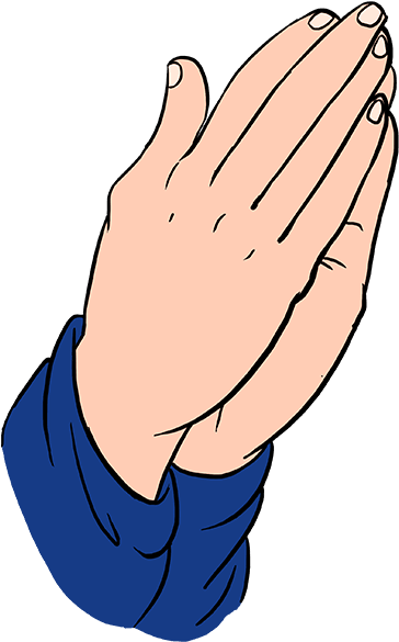 """Easy drawing guides on twitter: """"drawing beautiful praying hands."""