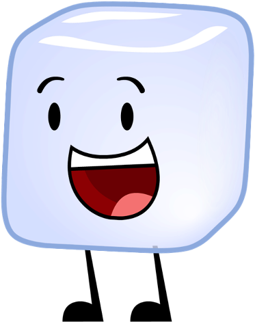Download HD Image Transparent Stock Clipart Ice Cube - Bfdi