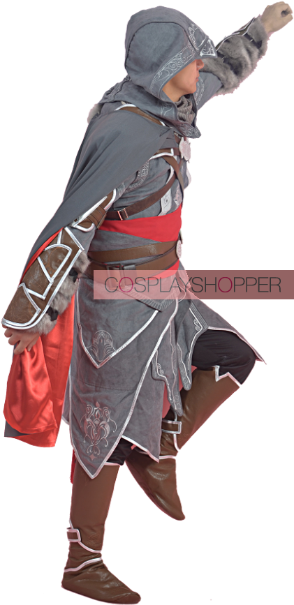 Download Hd Ezio Revelations Costume Revelation Assassin Creed Cosplay Transparent Png Image Nicepng Com