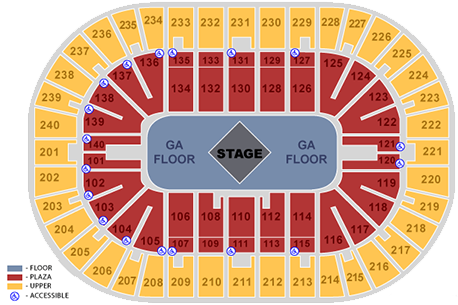Us Bank Arena Carrie Underwood Seating