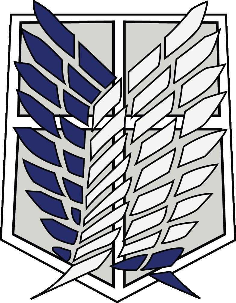Download Hd Survey Corps Scout Regiment Scout Legion Attack On Titan Logo Transparent Png Image Nicepng Com