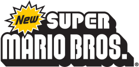 Download Hd New Super Mario Bros Nintendo Logo Vector New Super
