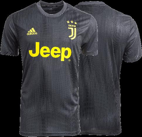 100% authentic dc945 087f8 Download HD Juventus Third Jersey - Juventus Jersey 2018 19 ...