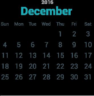 Download Hd December Calendar Png November 2006 Calendar