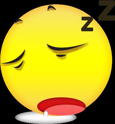 Download HD Free Sleepy Emoji - Need Sleep Emoji Transparent PNG