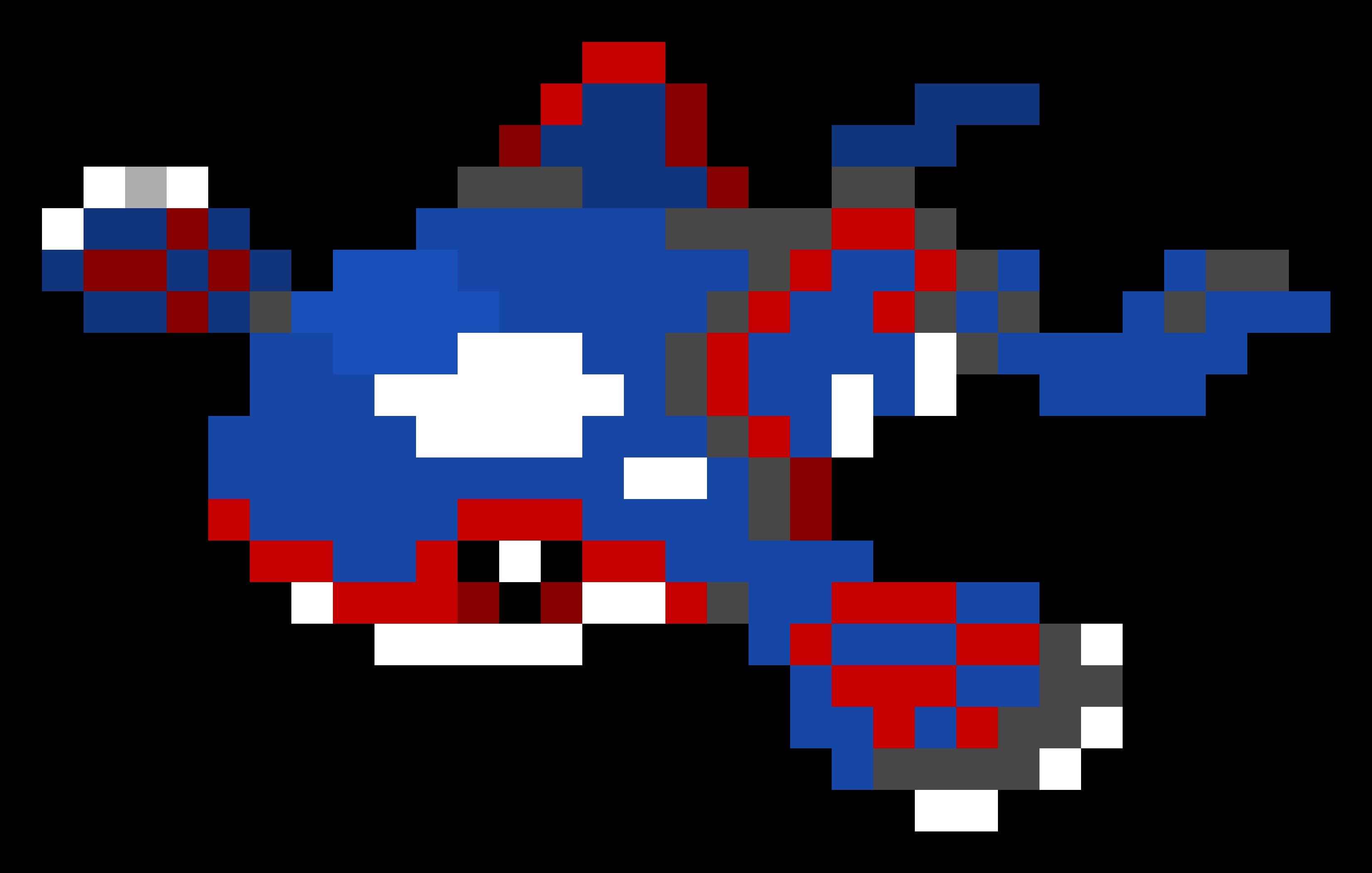 Groudon Pixel Art