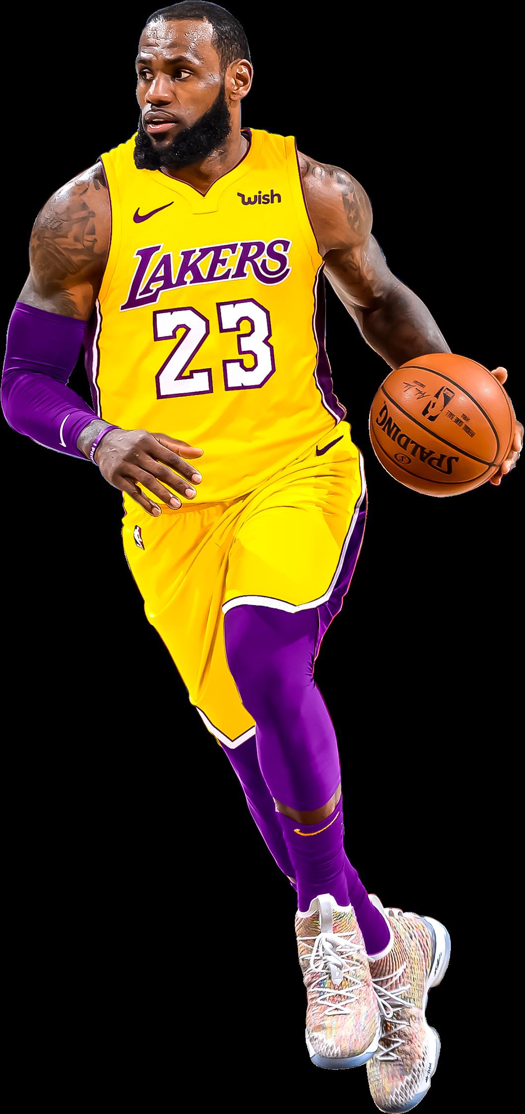 Download Hd Edited Photo Lebron James Lakers Transparent Transparent Png Image Nicepng Com