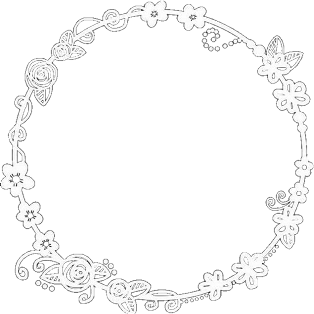 Download HD Circulo Cute Pngedit Png Flower Perfect Circle
