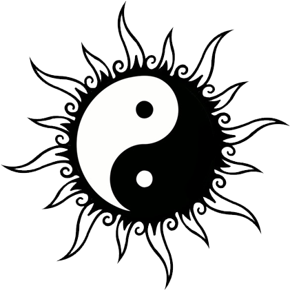 Download Hd Yin Yang Tattoos Clipart
