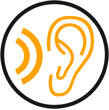 Download HD Listen - Noise Hazard Icon Transparent PNG Image