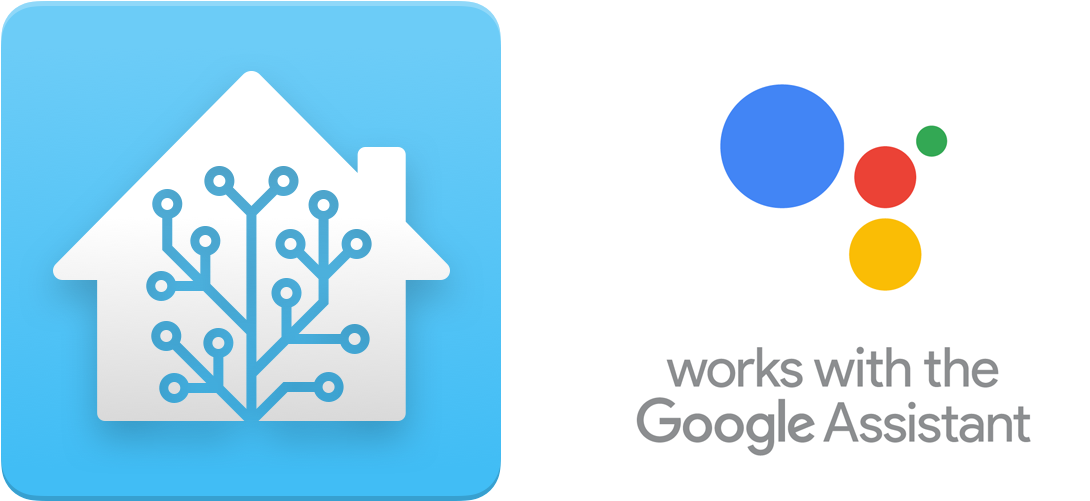 Download HD Home Assistant Logo And The Works With The Google