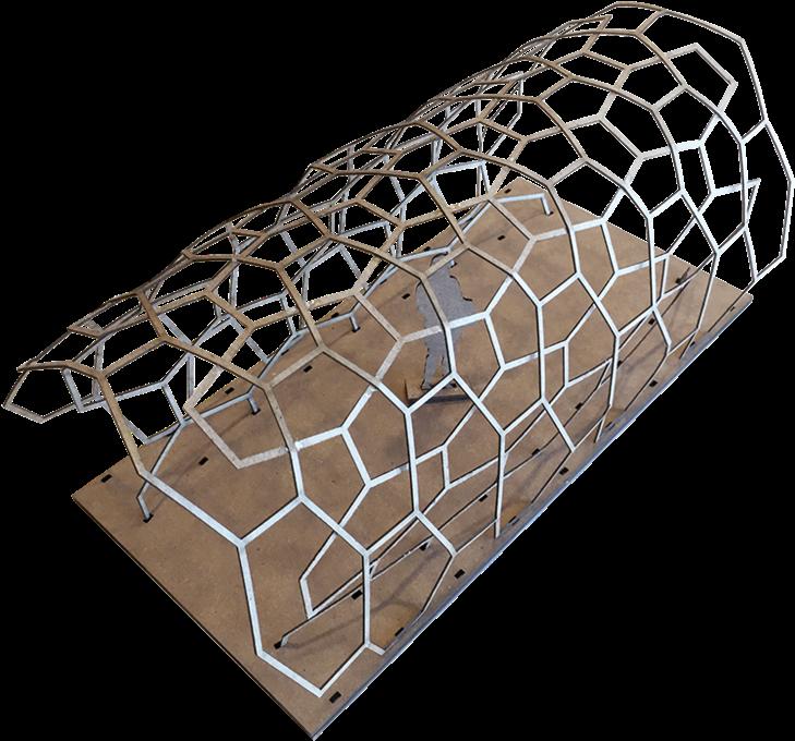 Download Hd Mt Pavilion Sketch Model Chain Link Fencing Transparent Png Image Nicepng Com