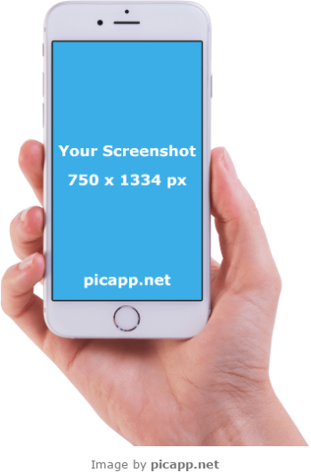 Download Hd Use This Amazing Iphone In Hand To Present Your Latest Mobile App Transparent Png Image Nicepng Com Landscape mobile frame png, transparent png. mobile app transparent png image