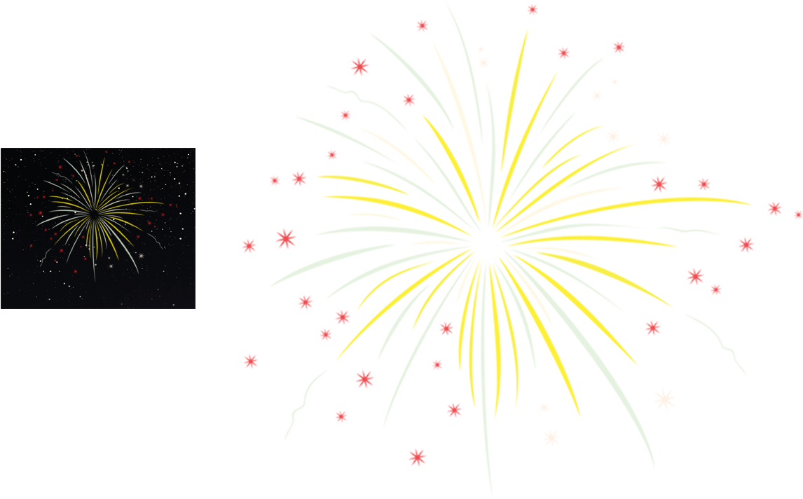 Year new Happy fireworks clipart pictures best photo