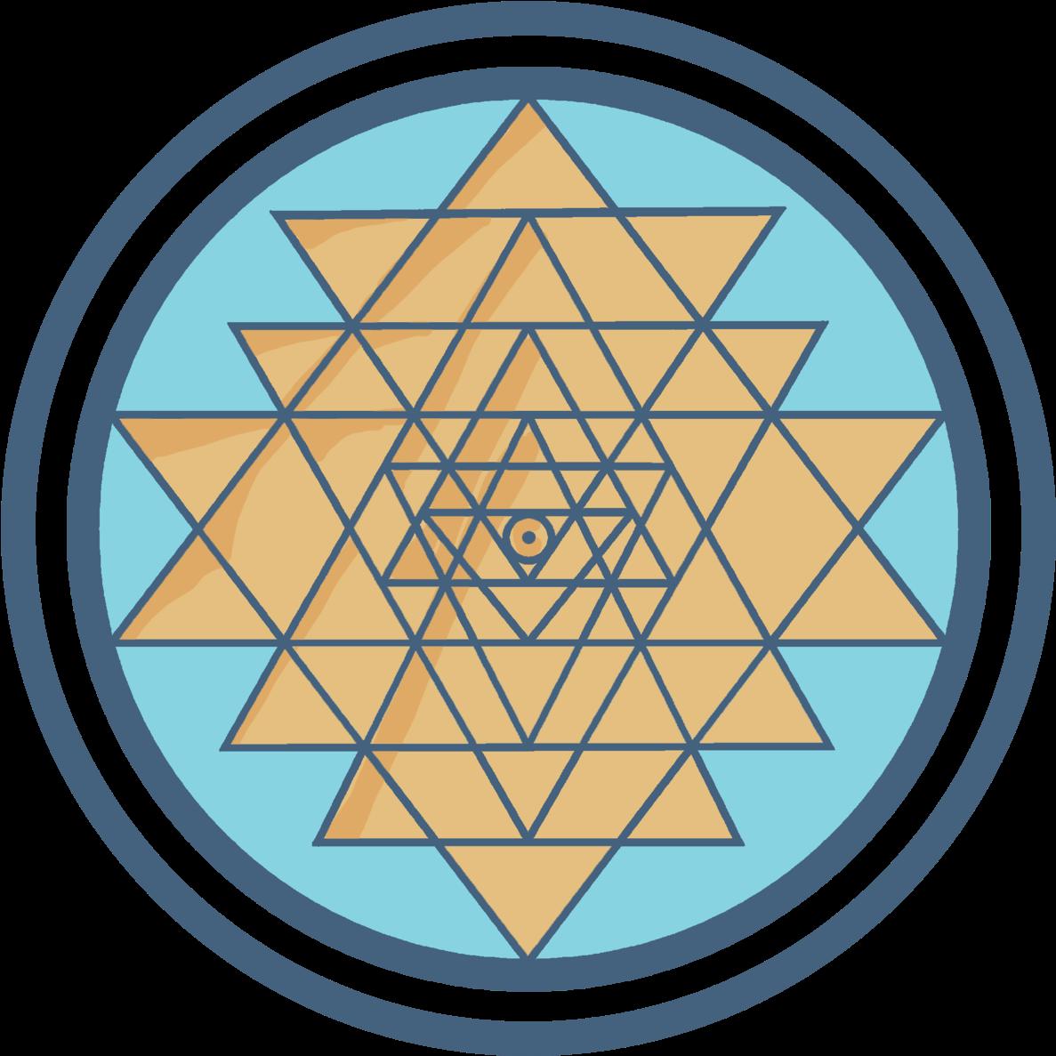 Download HD Sri Yantra Symbol - British Museum Transparent