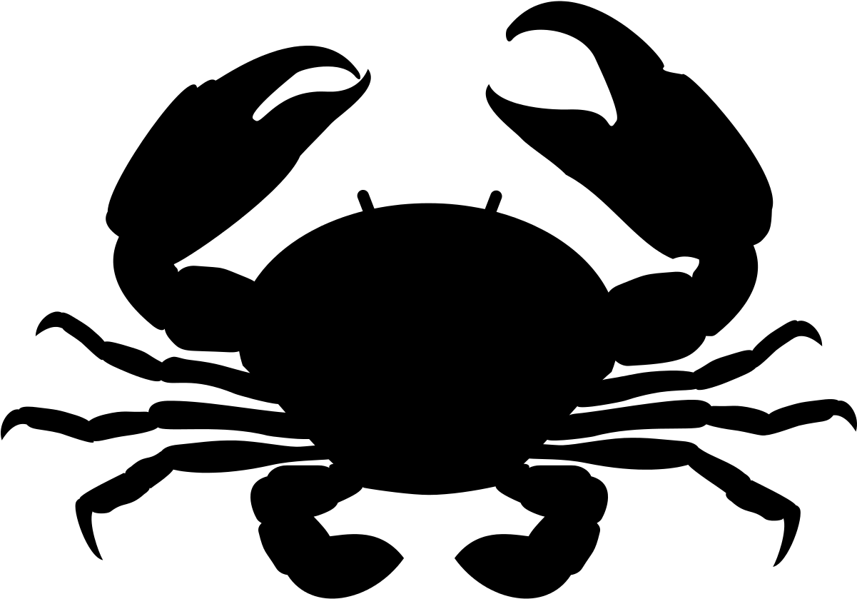 Краб картинка вектор