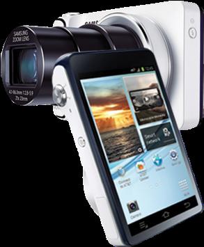 Download HD Galaxy-camera - Samsung Galaxy Ek-gc100