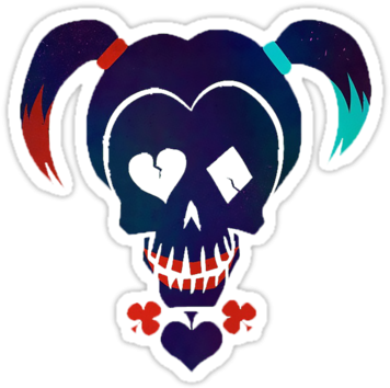 Download Hd Best Of The Joker Wallpaper Iphone The Gallery For Harley Quinn Suicide Squad Emoji Transparent Png Image Nicepng Com