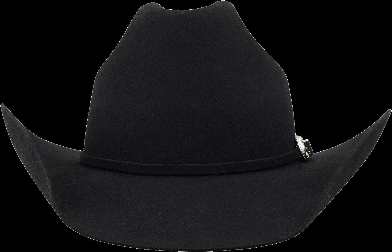 Download HD Black Cowboy Hat Png Download - Bullhide ...