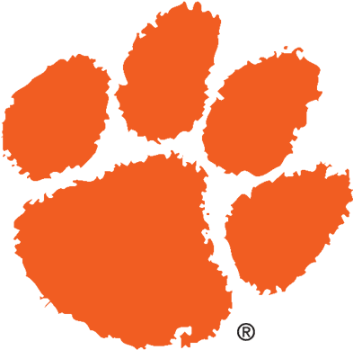 Clemson Logo Sports , A Sports Logo For Clemson University - Clemson Tiger Paw Logo (400x400), Png Download
