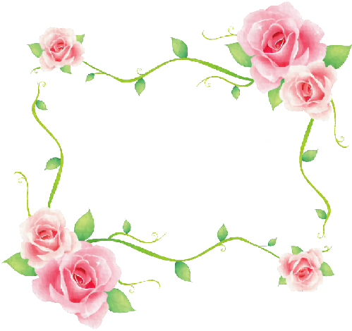 Download Hd Scrap Rosas Vintage Background Frame Bunga Png