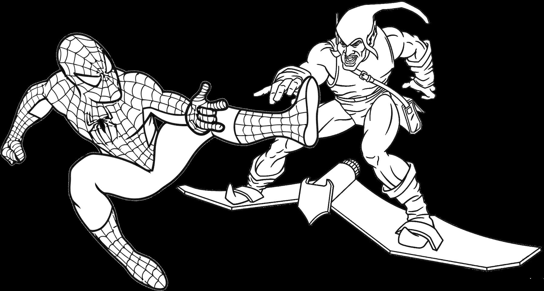 Download Hd Homem Aranha Para Colorir 03 Spiderman Coloring