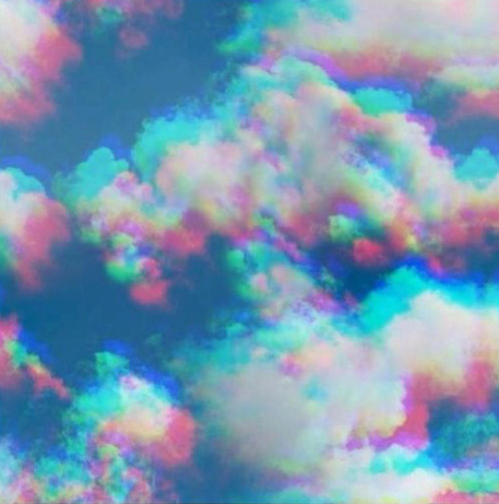 Download Hd Sky Trippy Pastel Background Transparent Png Image