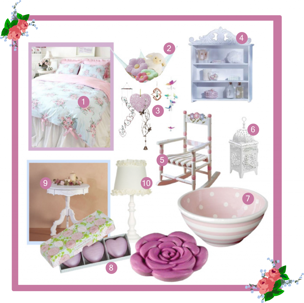 Download Hd Shabby Chic Girls Bedroom Design Decor Ideas Shabby Chic Girl Bedroom Decoration Transparent Png Image Nicepng Com