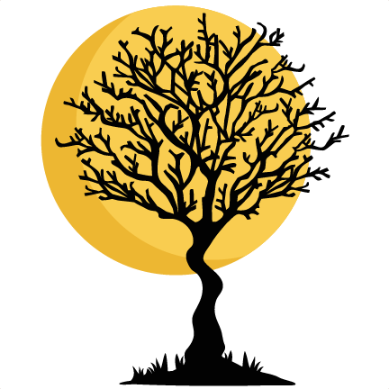 Download Hd Halloween Trees Cliparts Cute Halloween Tree Png Transparent Png Image Nicepng Com