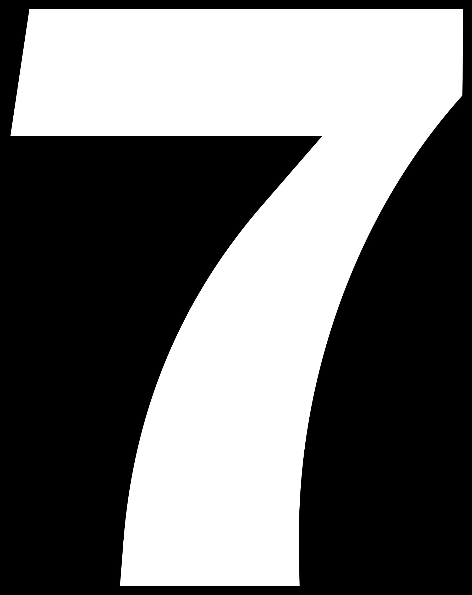 Download Hd Open Desenho Do Numero 7 Transparent Png Image