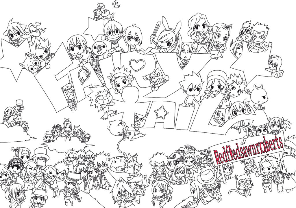 Download Hd Dessin Chibi Fairy Tail Transparent Png Image