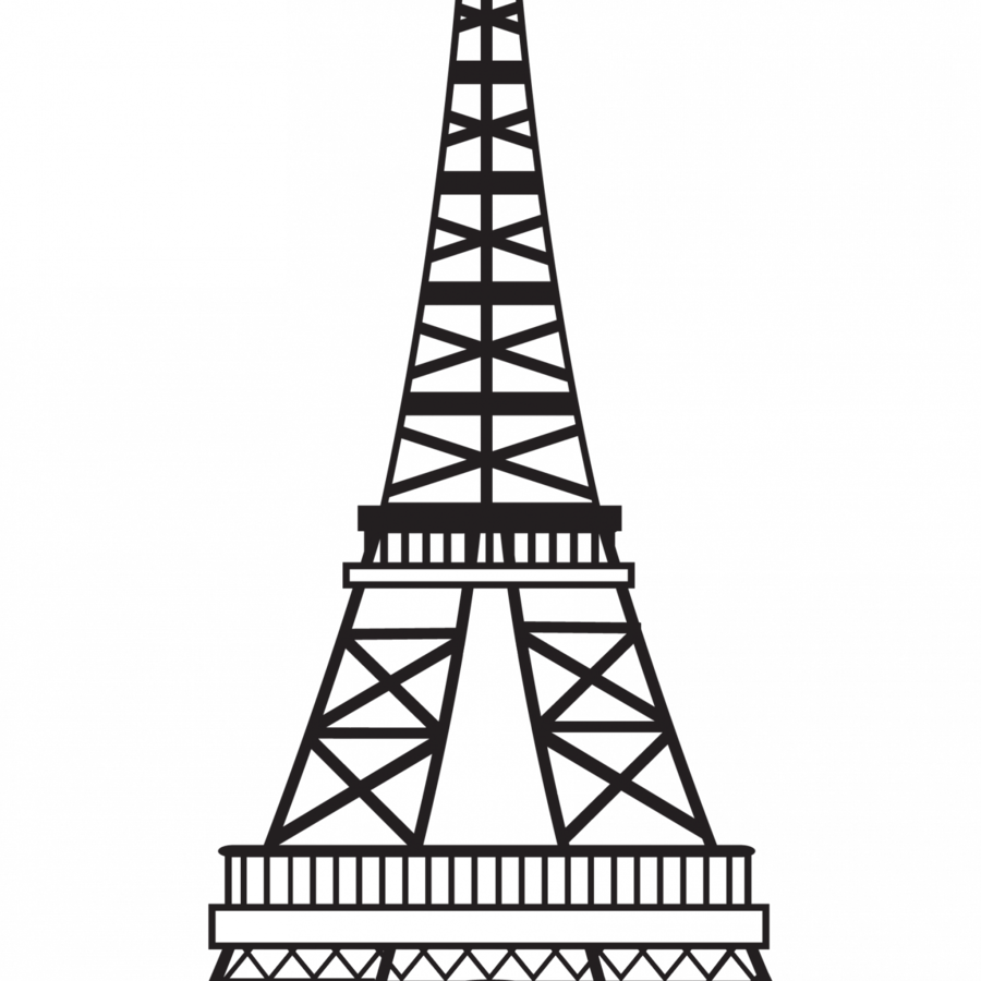 Download Hd Eiffel Tower Drawing Clipart Eiffel Tower Drawing Sketch Eiffel Tower Vector Png Transparent Png Image Nicepng Com