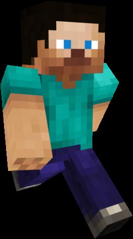 Download Hd Minecraft Steve Running Png Minecraft Steve No Background Transparent Png Image Nicepng Com