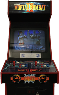 Download HD Mortal Kombat Ii - Arcade Machine Mortal Kombat
