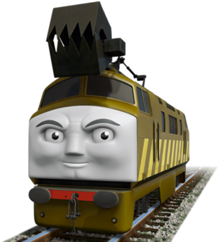 Download HD Diesel 10 Thomas And Friends Wiki Fandom Powered By