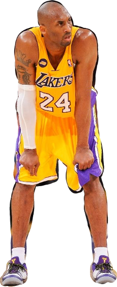 Download Hd Gfds Freetoedit Kobe Bryant Los Angeles Lakers Nba 16x12 Print Poster Transparent Png Image Nicepng Com