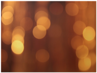 Download HD Festive Gold Background With Bokeh Effect Poster