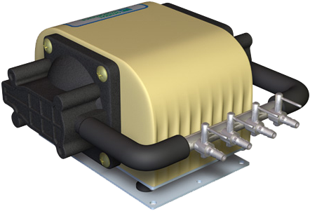 Download HD Dual Diaphragm Air Pump - Pulsafeeder Kx100-aaaa