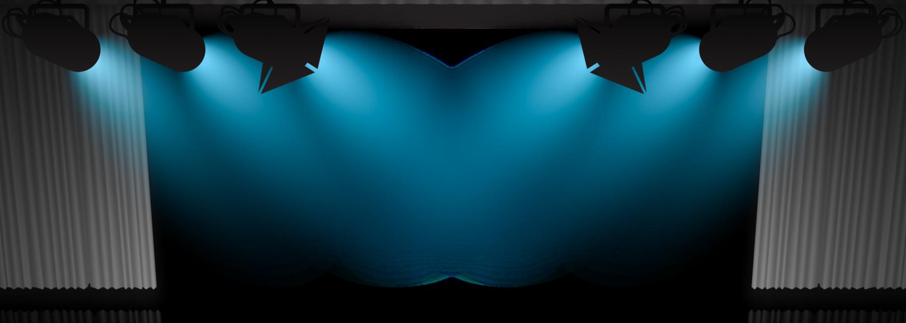 Blue Spotlight Png