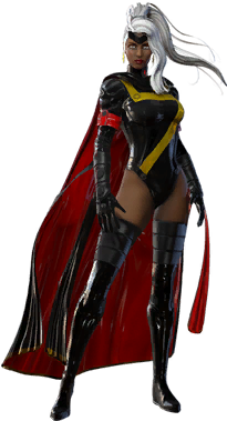 Download HD Storm - Marvel Heroes Omega Storm Transparent