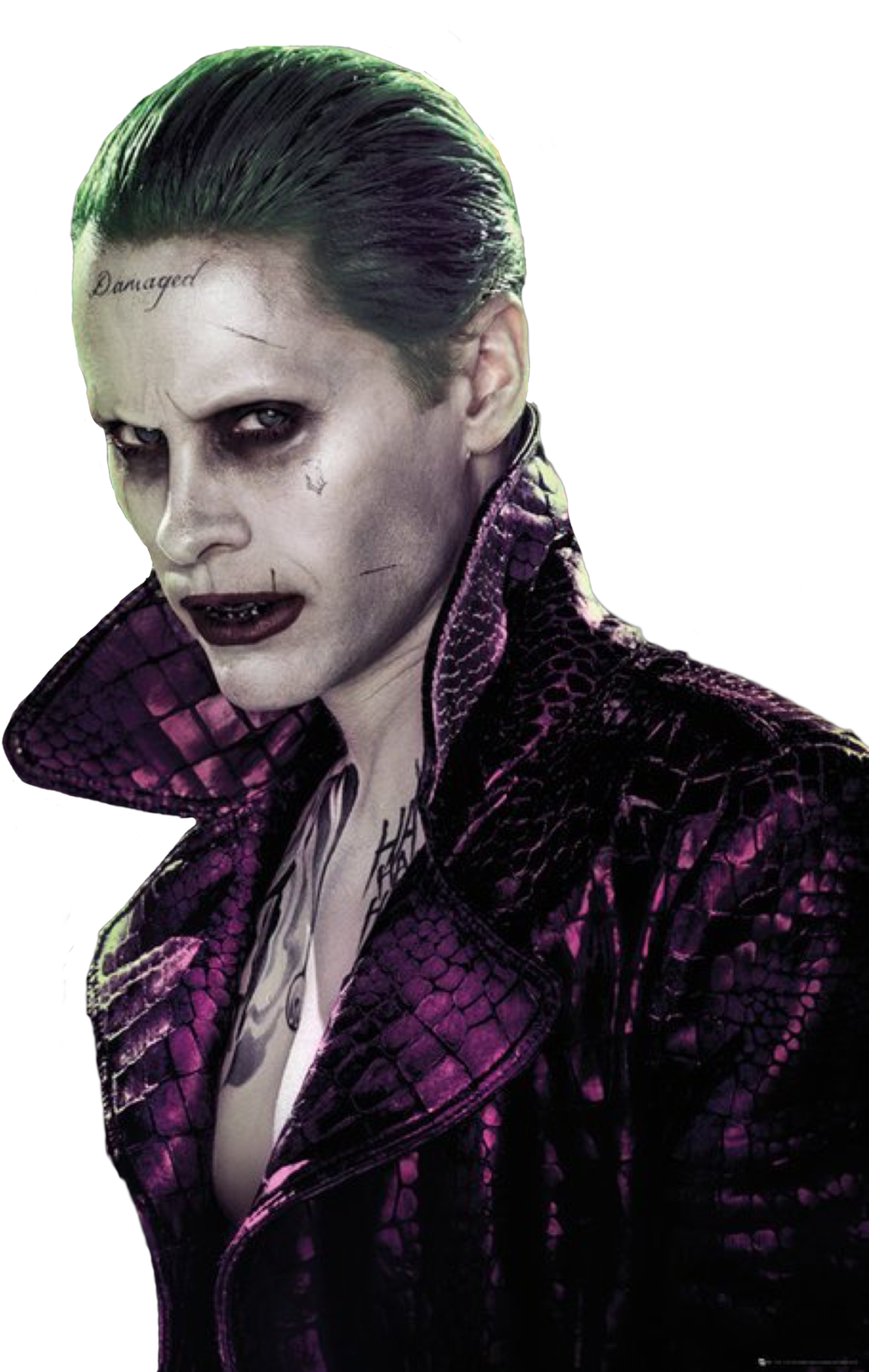 Download Hd Suicide Squad Joker Poster 61 X 91 5 Cm Transparent Png Image Nicepng Com