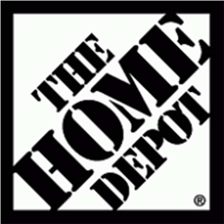 Download Hd The Home Depot Logo Black And White Transparent Png