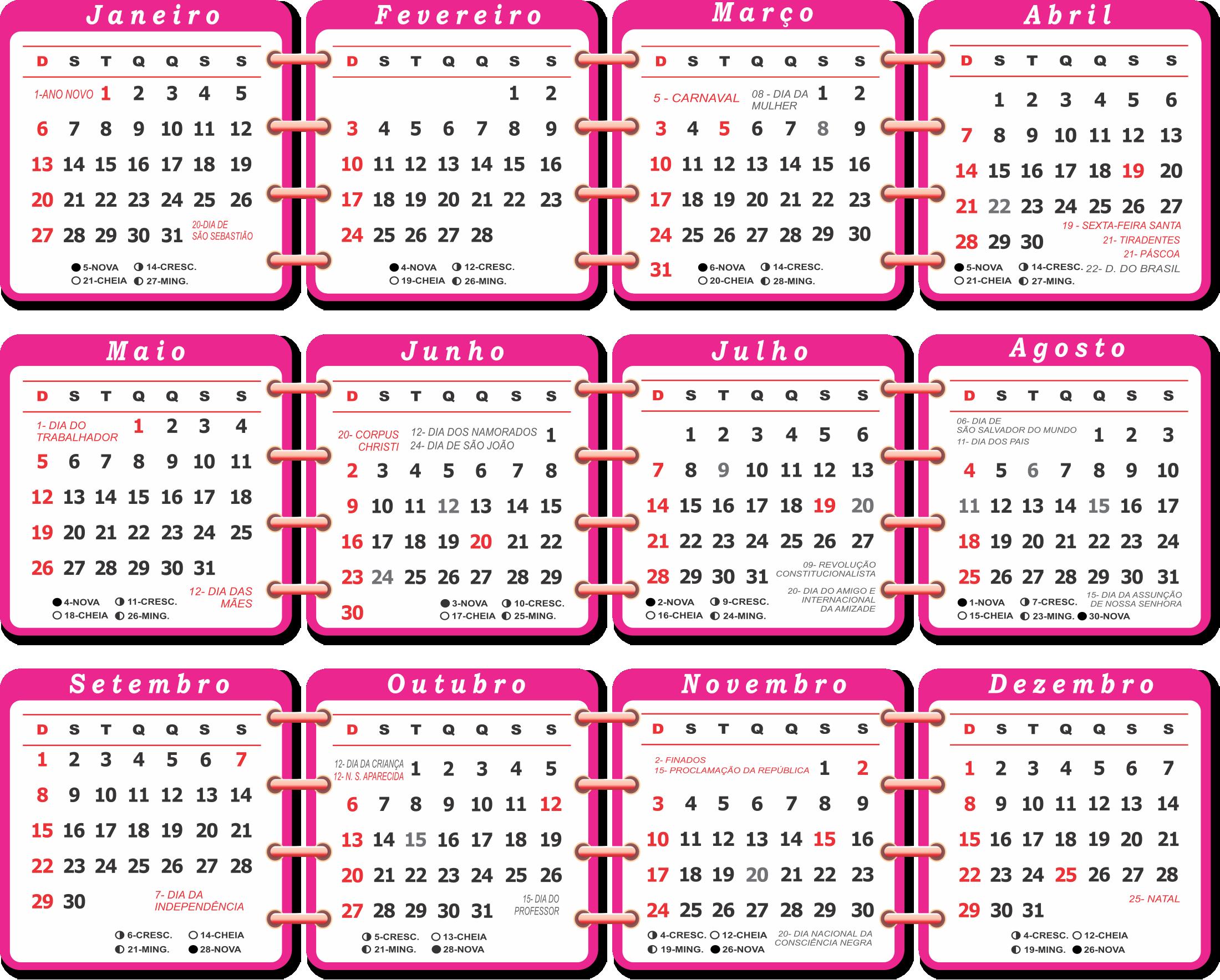 Calendario Rosa Png.Download Hd Base Calenda Rio 2019 Rosa Calendario 2019 Com