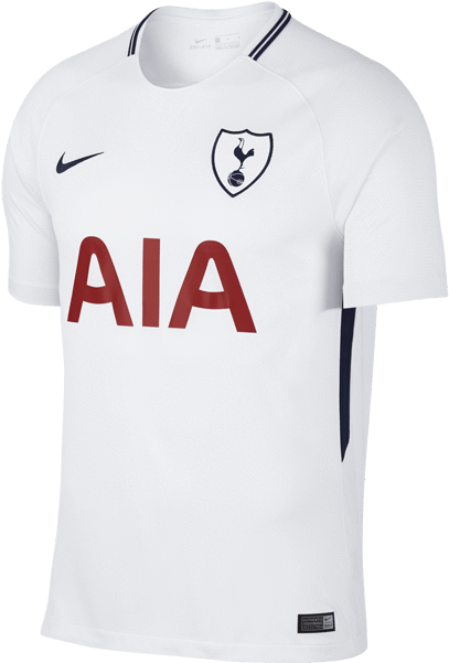 Download Hd Nike Breathe Tottenham Hotspur Fc Adults Home Jersey New 2017 18 Away Tottenham Hotspur Jersey Dele 20 Transparent Png Image Nicepng Com