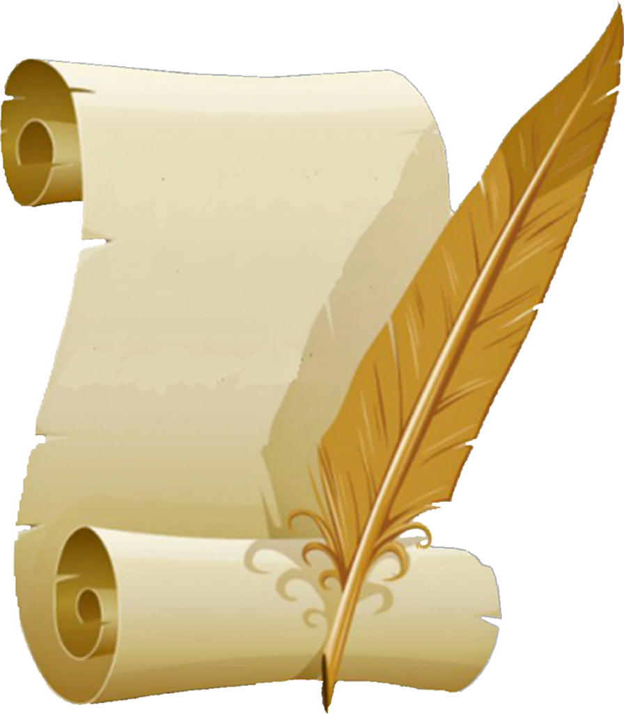 Download Hd Livre D Or Quill And Paper Png Transparent Png