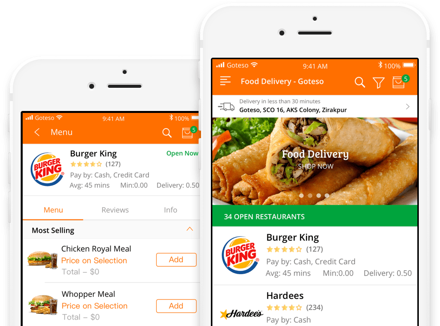 Download HD On Demand Food Ordering And Delivery Business
