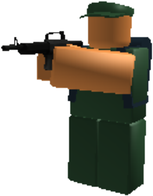 Download HD Soldier - Roblox Tower Battles Soldier